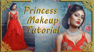Princess Makeover Indian Engagement Bride | Makeup Artist Manju Jaiswal | Photographer LOukik Das |
