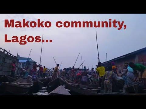 Travel Nigeria : Makoko Community , Third mainland bridge Lagos