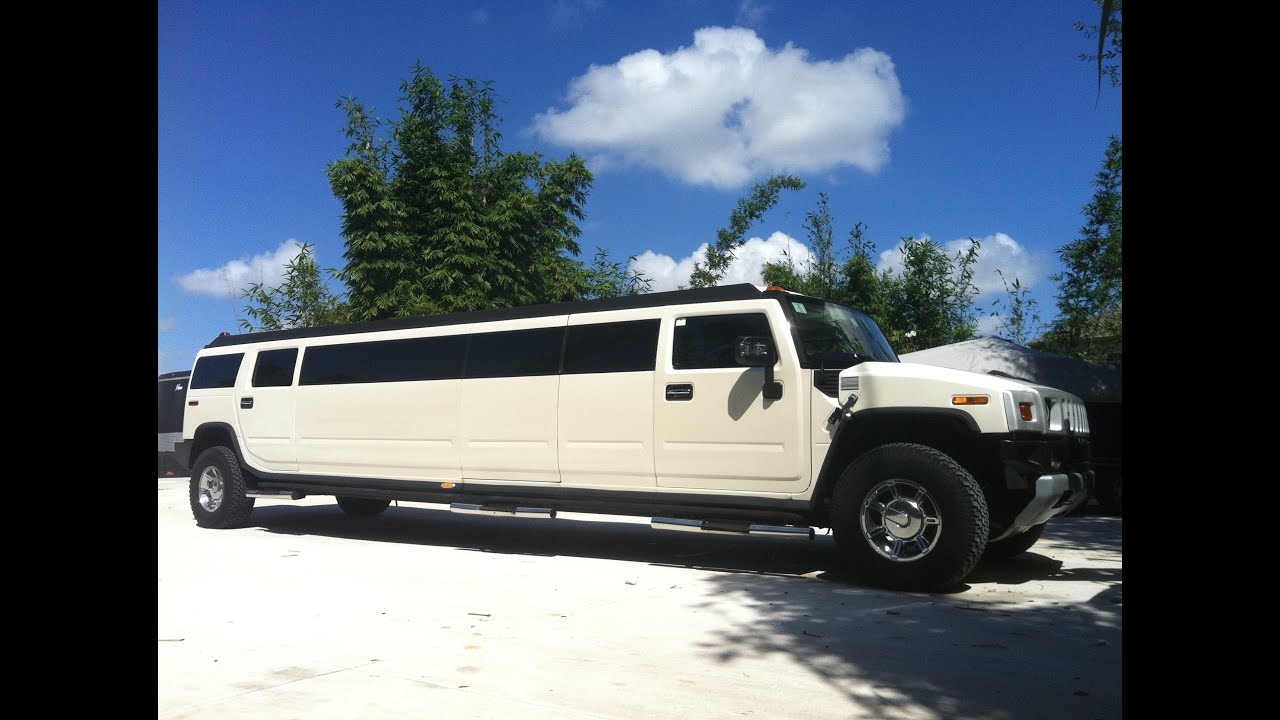Hummer Limo Interior Video by LimoOrlando