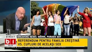 PARADA GAY - REFERENDUM PENTRU FAMILIA CRESTINA VS. CUPLURI DE  ACELASI SEX