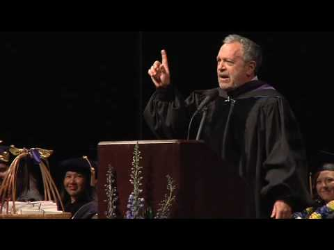 Professor Robert Reich Urges Social Welfare Graduates to Be Leaders