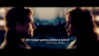"the hunger games || peeta & katniss (""i love you...peeta"")"