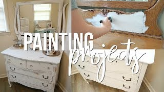PAINTING PROJECTS!! | FURNITURE PAINTING!