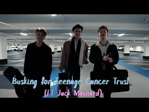 Busking for Teenage Cancer Trust (Feat Jack Maynard)