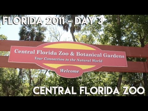 Orlando Florida Vacation Vlog 2011 | DAY 3 Central Florida Zoo
