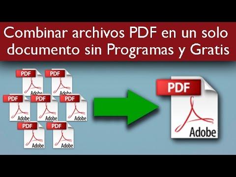 programa para unir pdf gratis
