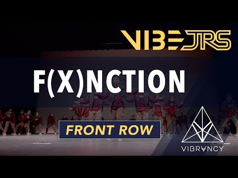F(x)nction   Vibe Jrs 2020 [@VIBRVNCY Front Row 4K]