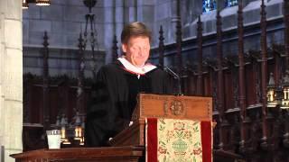 Princeton Baccalaureate 2012: Michael Lewis