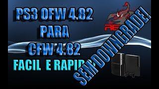 COMO DESBLOQUEAR PS3 SLIM 4.82 - EM 10 MINUTOS TUTORIAL!