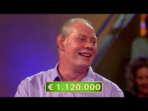 Winnaar miljoen vraagt vrouw ten huwelijk op tv  POSTCODE LOTERIJ MILJOENENJACHT