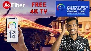 JIO GIGAFIBER -PLANS & EVERYTHING EXPLAINED! Free 4K TV? Free Set top box?