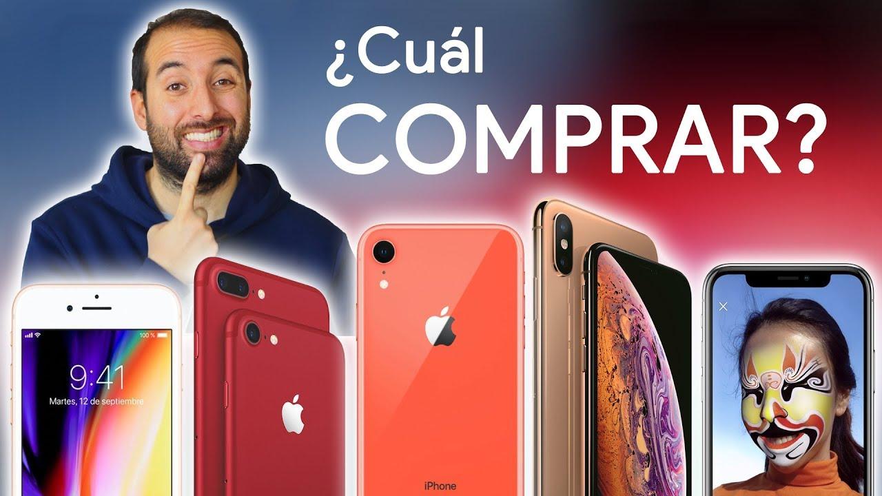 d377ff2e5b3 Qué iPhone COMPRAR en 2019? - YouTube
