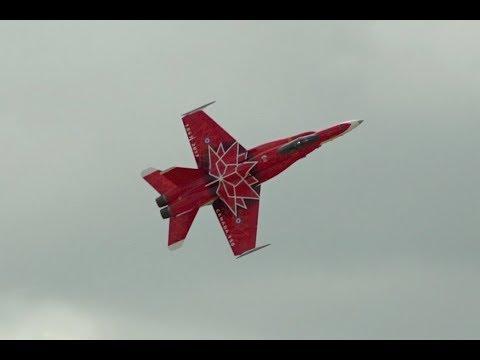 2017 Abbotsford Airshow CF-18 Hornet Demo