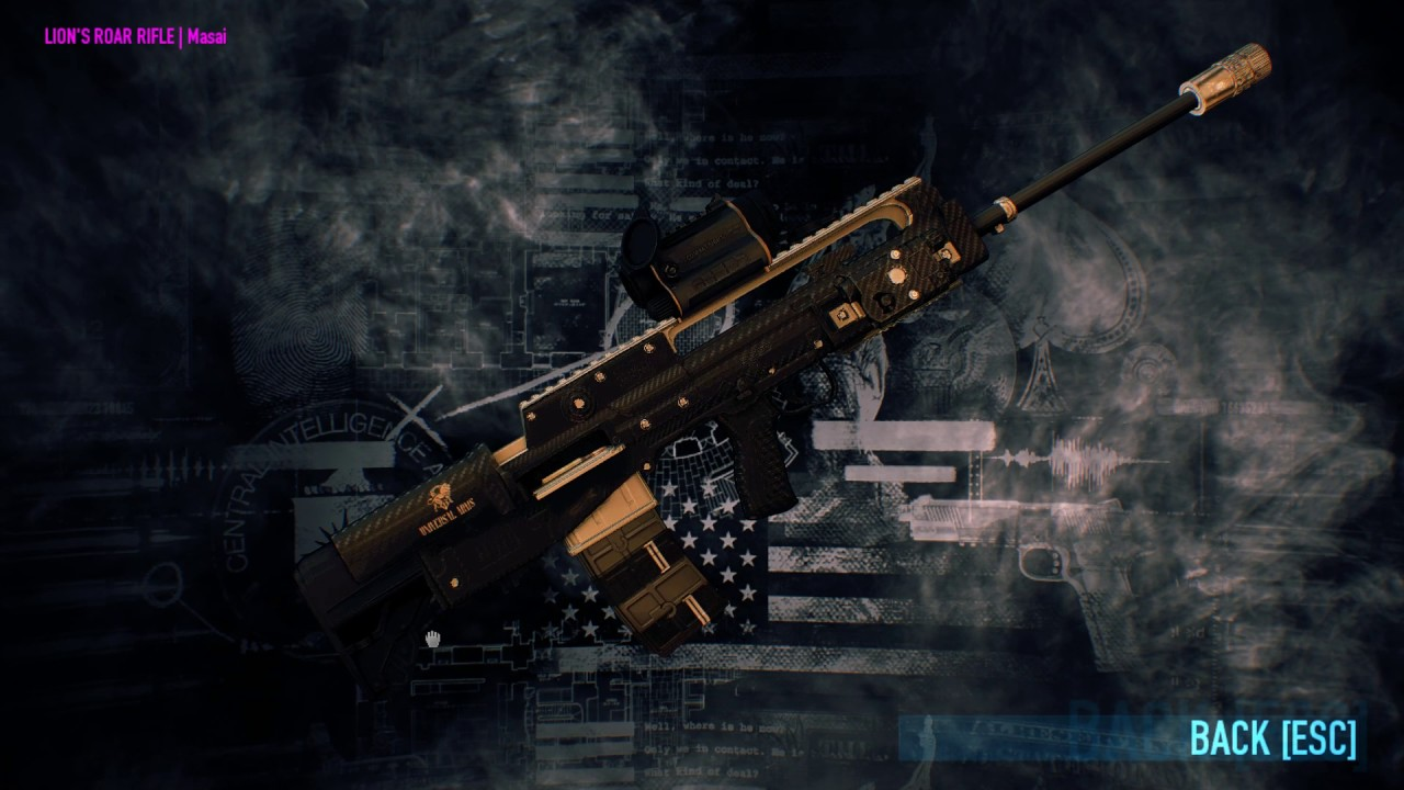 All Skins Of The New John Wick Safe Legendary Payday 2 Update