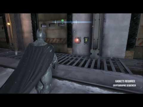Batman Arkham Origins - Coventry - All Enigma Datapacks / Extortion Files Locations