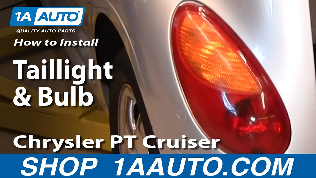 maxresdefault how to install replace taillight and bulb chrysler pt cruiser 01 2007 PT Cruiser Engine Diagram at creativeand.co