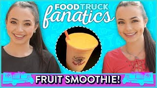 SMOOTHIE CHALLENGE?! Food Truck Fanatics w/ Merrell Twins