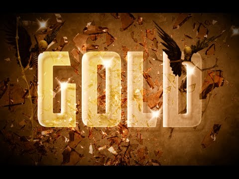 How to make a Gold Text Effect in Gimp 2.8