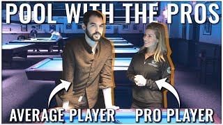 Getting schooled by pro pool player Jennifer Barretta | From Average To Good