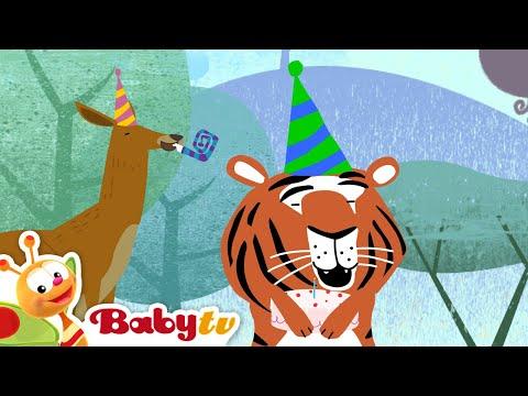 Tricky Tracks Train Tiger S Birthday Babytv Youtube