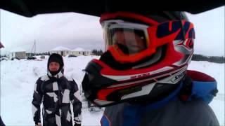 Тест-драйв снегоходов в Домоседово экстрим Арктик кэт
