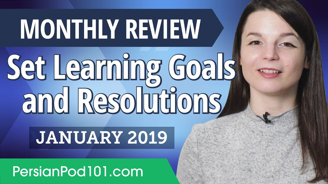 How to set achievable Persian goals and resolutions? | Persian January Review