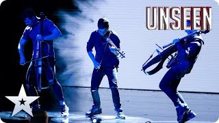 EPIC, ATMOSPHERIC and a little HAUNTING: Ember Trio are a triple threat! | Auditions | BGT: UNSEEN