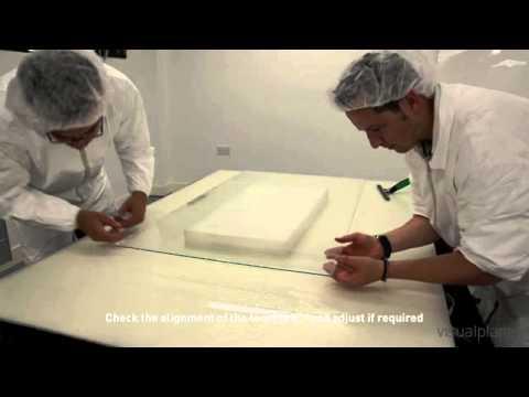 видео: Монтаж сенсорной пленки