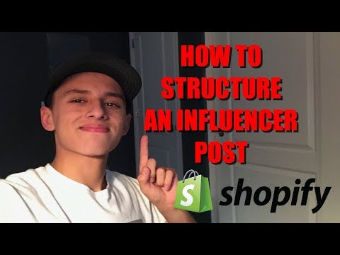 HOW TO STRUCTURE AN INFLUENCER POST