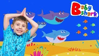 Baby Shark Song Nursery Rhymes for Children Kids Animal Songs with Yegorka TV