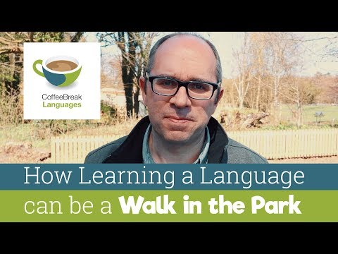How Learning a Language can be a Walk in the Park