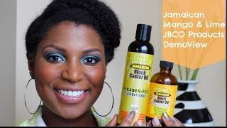90| Jamaican Mango and lime  Paraben Free Conditioner and Jamaican Black castor Oil
