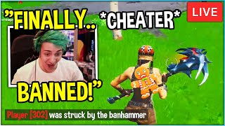 Ninja In DISBELIEF After most Notorious CHEATER Gets *BANNED* …