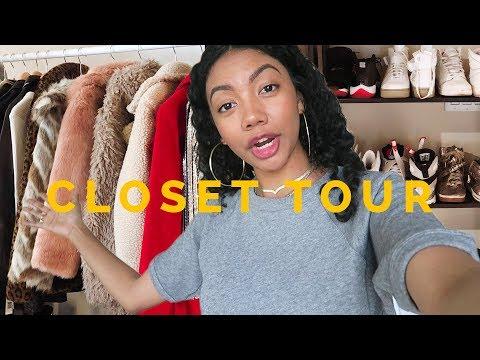 MY CLOSET TOUR: How I Organize + Closet Confidential Tag