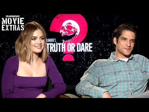 TRUTH OR DARE (2018) Lucy Hale & Tyler Posey talk about their experience making the movie