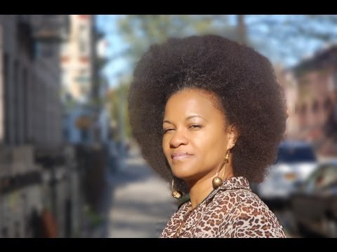 How to make a stretched Afro