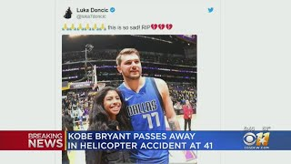 Mark Cuban, Mavs Players React To News Of NBA Legend Kobe Bryant's Death