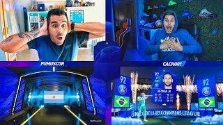 EL MEJOR QUIEN ES QUIEN CON JUGADORES CHAMPIONS vs CACHO !!!!