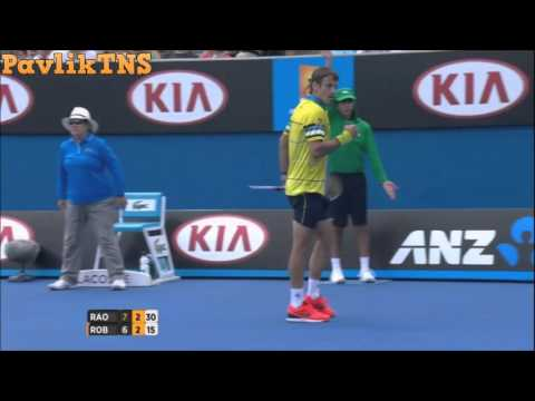 Milos Raonic vs Tommy Robredo Highlights ᴴᴰ Australian Open 2016