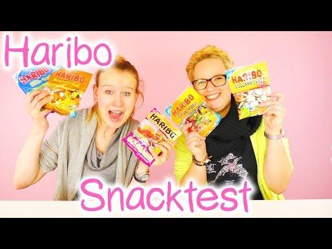 HARIBO NEUE SORTEN | Eva & Kathi Snacktest mit neuen Gummibärchen + super sauren Vulkanen + Piraten