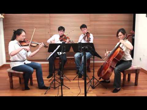 When We Were Young - Adele - Arpeggione String Quartet (Singapore)