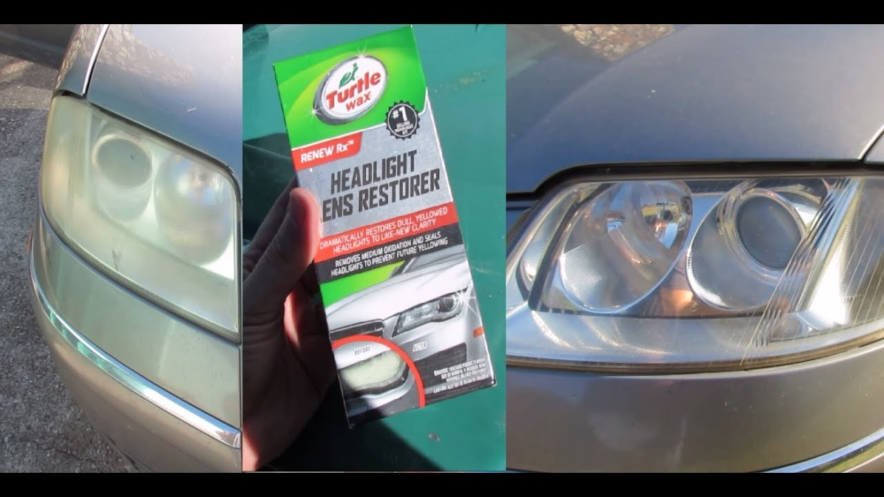Turtle Wax Headlight Lens Restorer Review Youtube