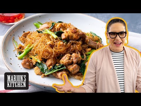 Pad See Ew Woon Sen (Thai Soy Sauce Glass Noodles)⚡️ Marion's Kitchen