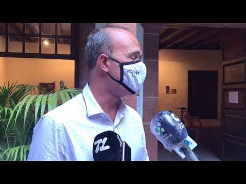 Valoraciones del Consejero de Turismo Raúl Camacho sobre la decisión del Operador TUI.