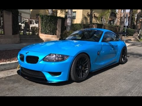 Modified Bmw Z4m Coupe One Take Youtube