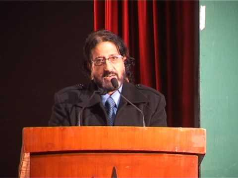 Director of radio Kashmir (interview about theater in radio Kashmir)