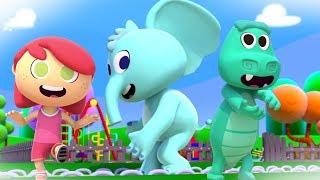 The Animal's Dance | Kintoons Nursery Rhymes | Videos For Kids