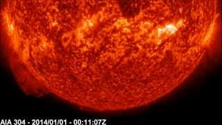 Solar X-ray Event: M6.4 Class Flare | January 01, 2014