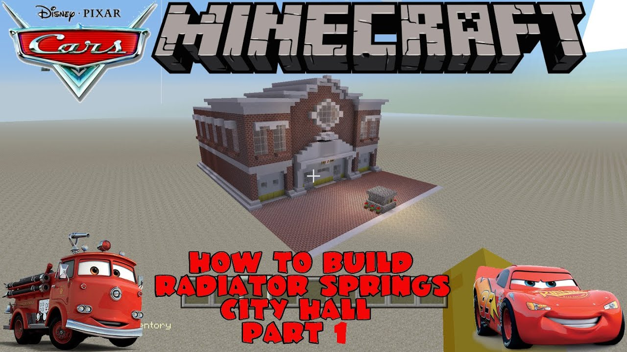 Minecraft Tutorial - How To Build The Traffic Court Pt1 (Cars ...