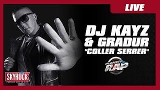 """Dj Kayz & Gradur """"Coller serrer"""" en live dans Planète Rap"""